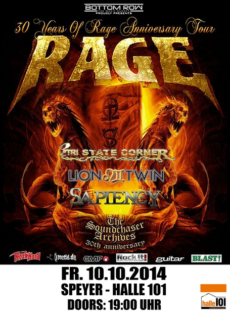 Rage flyer speyer