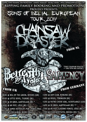 Sons of Belial EUROPEAN TOUR small